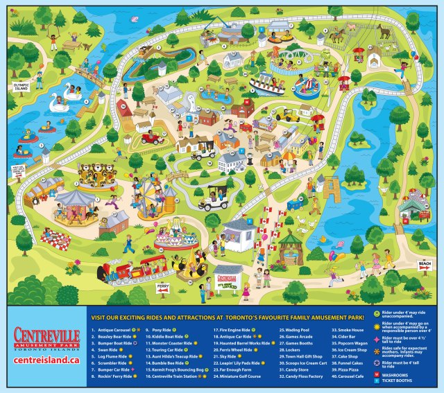Centreville_Amusement_Park_map1
